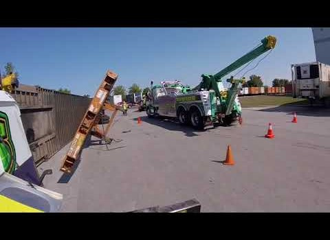 Rotator work episode 4 container roll over