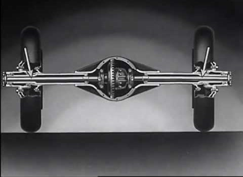 It Floats - Chevrolet Full Floating Rear Axle (1936)