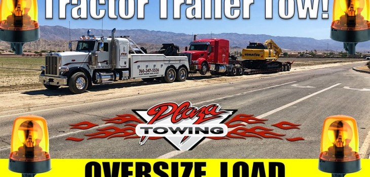 "Oversize Load Tow! ~150,000 Pounds | 11' 6"" Wide"